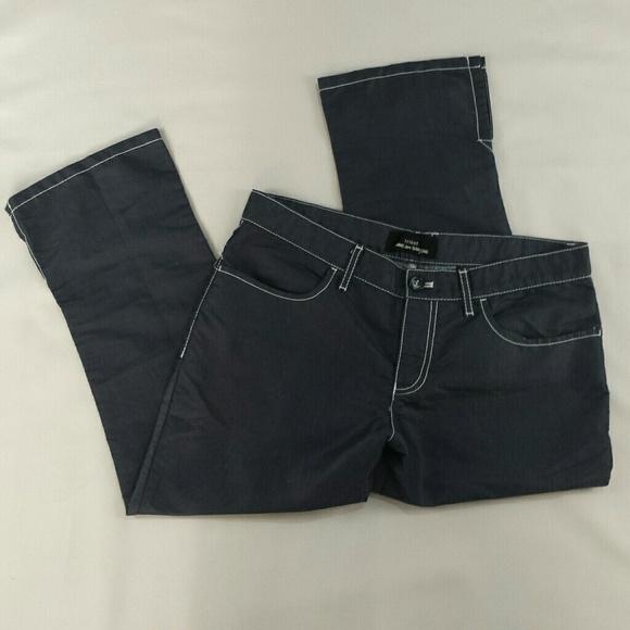 c4165fd9a319 Comme des Garcons Pants - tricot COMME des GARCONS cropped pants D38